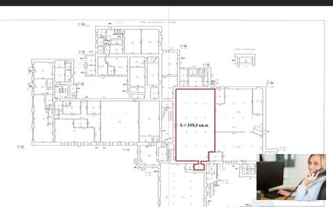 Склад 1этаж 335м2-пандус-аренда - Фото 3