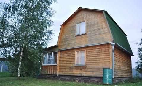 Дача из бруса 70 кв.м. на 10 сот. у леса, д.Финеево СНТ Финеево - Фото 1