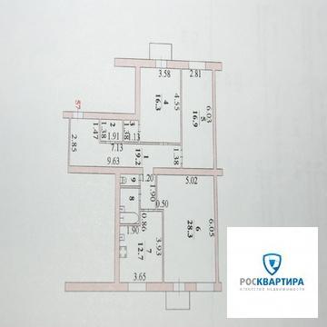Продажа трехкомнатной квартиры в центре г. Липецка. - Фото 3