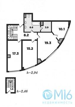 Трехуровневая квартира с эксклюзивным видом - Фото 3