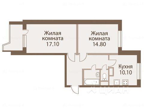 2-к кв. Москва Шипиловский проезд, 43к1 (58.2 м) - Фото 1