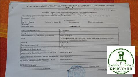 Продажа дома, Магадаево, Томский район, Ул. Кедровая - Фото 1