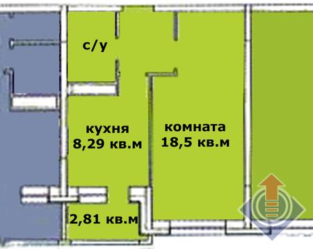 Аренда: 1 комнатная квартира в новом ЖК Школьный, г. Наро-фоминск - Фото 2