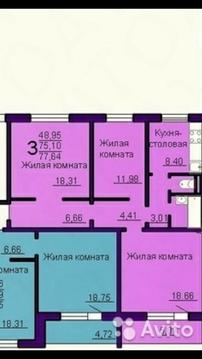 Квартира, ул. Братьев Кашириных, д.157 - Фото 1