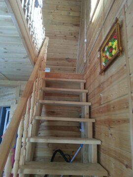 2х эт. Дом 100м2 брусовой зимний на 6 сотках СНТ Костино д. Трубицыно - Фото 4