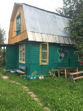 Дача в СНТ Мир вблизи г. Струнино - Фото 1