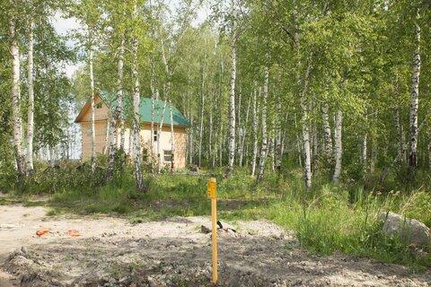 10 соток возле озера Медвежье, черта города - Фото 1