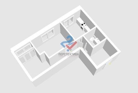 "2-к квартира 55,1м в ЖК ""Эрмитаж"" Горсовет - Фото 2"
