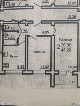 Квартира 2-комнатная Саратов, Юбилейный, ул Хрустальная, Купить квартиру в Саратове по недорогой цене, ID объекта - 314720577 - Фото 1