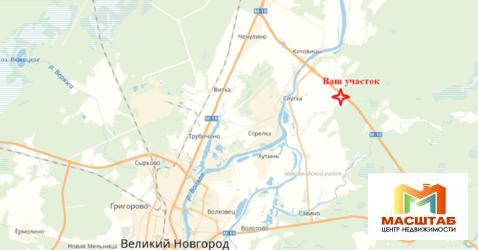 Продается участок промышленного назначения 13 Га на 181 км трассы м10 . - Фото 3
