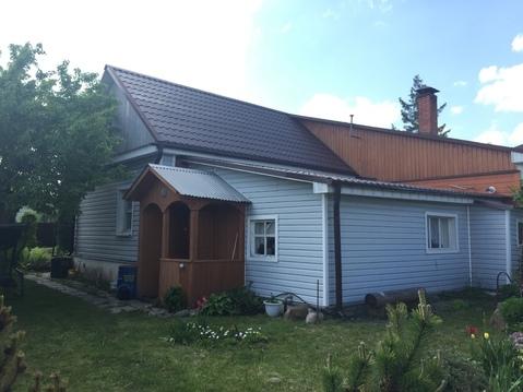 Продается часть дома 50 кв.м, 5 соток в п. Малино, Ступинского р-на - Фото 1