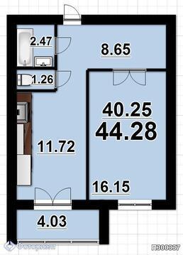 Квартира 1-комнатная в новостройке Саратов, Кировский р-н, ул Им, Купить квартиру в Саратове по недорогой цене, ID объекта - 315551373 - Фото 1