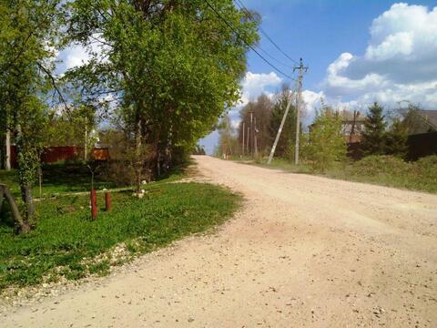 Участок 25 соток в деревне с видом на поле и лес рядом с гор. Можайск. - Фото 1