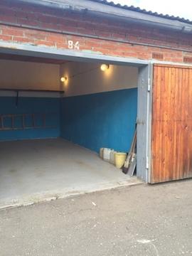 Продаётся сухой кирпичный гараж на Красной горке Подольска - Фото 1