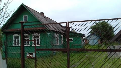 Продажа дома с земельным участком в городе Сольцы - Фото 1