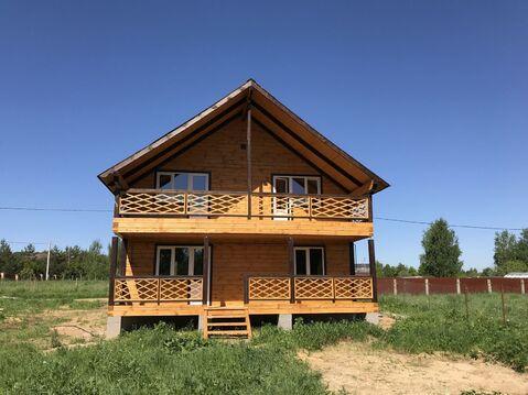Новый дом в жилой деревне рядом Заповедной территорией - Фото 1