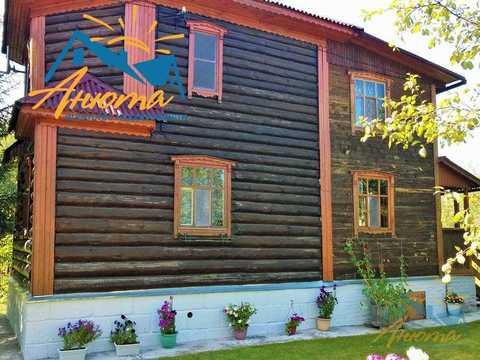 Бревенчатый дачный дом около Обнинска. - Фото 2
