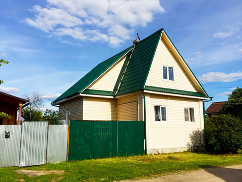 Продается дом 58 кв. м на участке 9 соток. Берег Волги - Фото 2