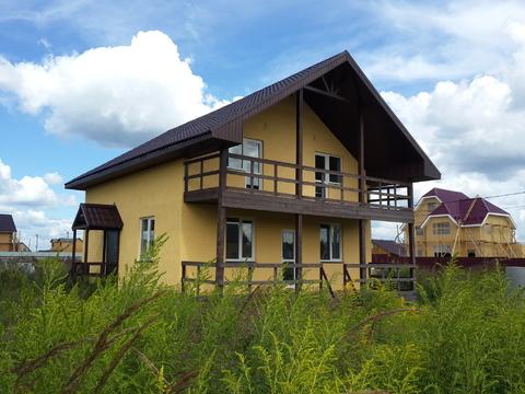 Продается новый блочный дом 174м2 на участке 10,4сот, село Малышево - Фото 2
