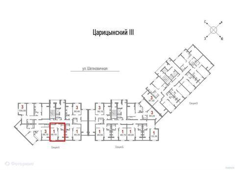 Продажа квартиры, Саратов, Ул Шелковичная жилой комплекс Царицынский - Фото 2