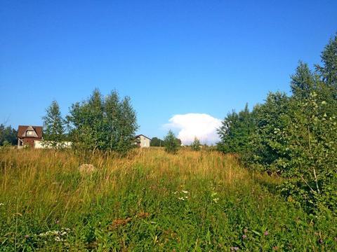 Участок 13 соткок лпх с видом на залив, д.Валяницы, Кингисеппский рн. - Фото 1