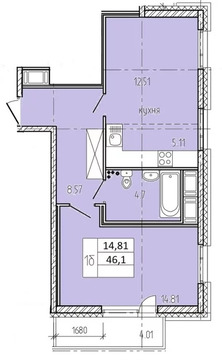 Объявление №53888871: Продаю 2 комн. квартиру. Санкт-Петербург, Среднерогатская, 9,