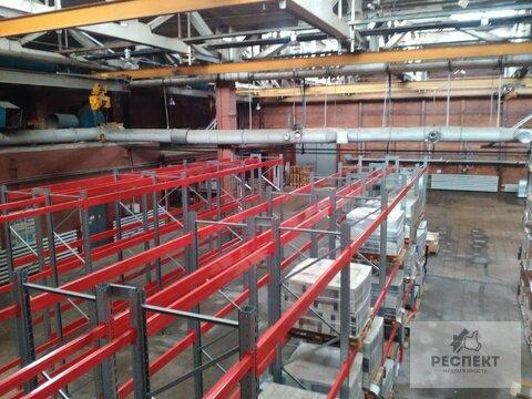 Производство/Склад 670 кв.м, кран-балка 3,5т. - Фото 1