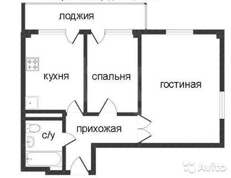 "Продам 2-комн. квартиру в ЖК ""Квадро"" дом 4 65,25 кв.м. на 14 этаже - Фото 1"
