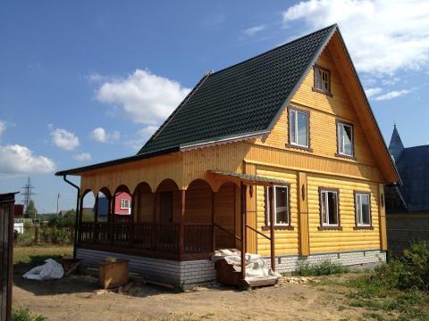 Новая дача на р.Волга - Фото 4