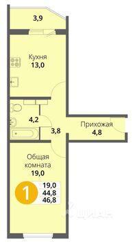 Продажа квартиры, Орел, Орловский район, Ул. Кузнецова - Фото 1