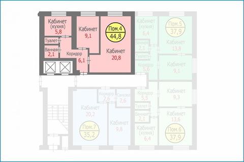 Квартира-апартаменты 44,8 кв.м. в ЗЕЛАО г. Москвы, Свободная продажа - Фото 3