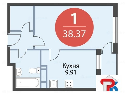 Продается Однокомн. кв. г.Одинцово, Чистяковой ул, 3в - Фото 5