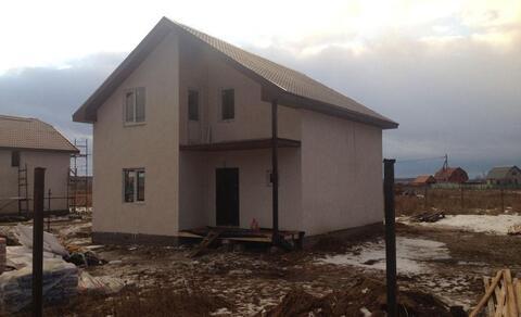 Продается новый блочный дом 162м на 10 сот, д.Малышево, Раменский р-н - Фото 1