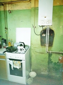 Комната 15 (кв.м) в 3-х ком. квартире на 1/2 блочного дома. Центр. - Фото 3