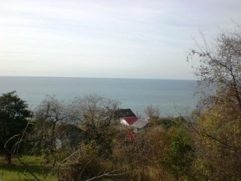 Участок с панорамным видом на море, рядом с морем. - Фото 1