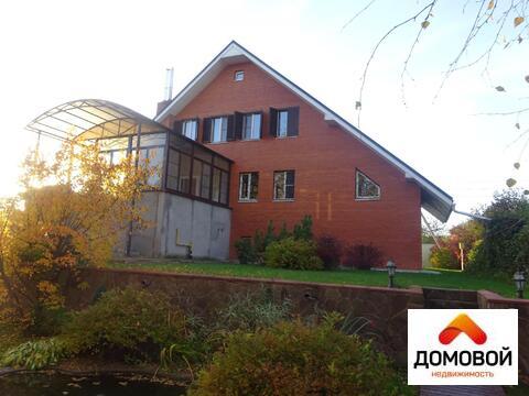 4-уровневый кирпичный дом 600 м2 в Серпуховском р-не д. Левашово. - Фото 2