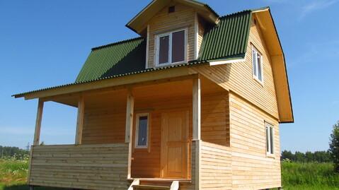 Брусовой дом 60кв.м. на участке 38 соток в д.Скрипово, Заокский р-он - Фото 5