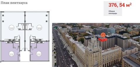 """ЖК """"Сады Пекина""""-Пентхаус 376,54 кв.м, 13/13 этаж, 1корпус, 10 спален - Фото 1"""