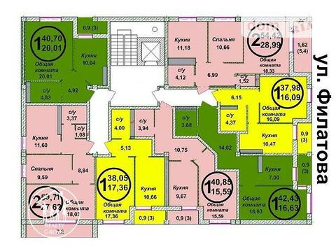 Квартира, город Херсон, Купить квартиру в Херсоне по недорогой цене, ID объекта - 314924239 - Фото 1