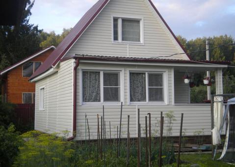 Продается 2х этажная дача 80 кв.м. на участке 6 соток - Фото 1