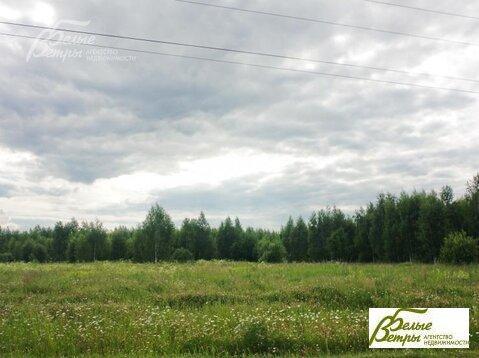Участок кв. м,  11.1 сот, Калужское шоссе,  25 км,  Певчее . - Фото 1
