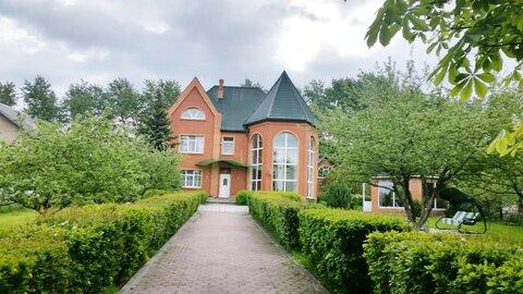 Шикарный 3-эт. дом с ремонтом 384 м2 на 18 сот в 11 км по М-2 в Быково - Фото 1