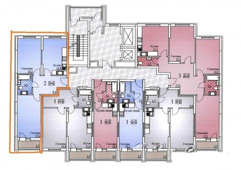 2 комнатная квартира в ЖК Ильинский - Фото 2