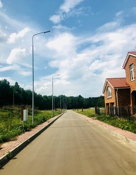 Участок 10 соток в готовом поселке, всего в 15 км. по Киевскому шоссе! - Фото 1