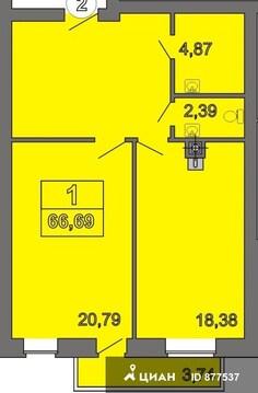 Продаю1комнатнуюквартиру, Тверь, улица Крылова, 5, Купить квартиру в Твери по недорогой цене, ID объекта - 320890794 - Фото 1