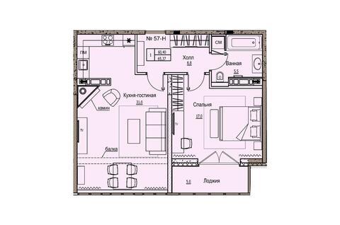 Продажа квартиры, м. Старая Деревня, Приморский Проспект - Фото 2