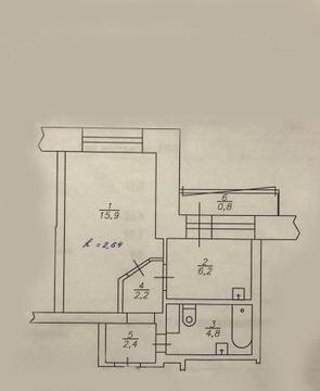 Северный 1 комнатная - Фото 1
