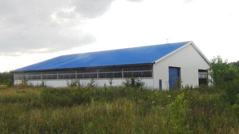 Для бизнеса: Комплекс зданий 2187 кв.м на земельном участке 10,37 га - Фото 1