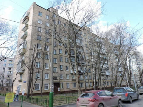 Продам 1-к квартиру, Москва г, улица 1812 года 10к2 - Фото 1