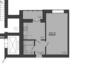 Продается 1-к Квартира 33 м2, ул. Глазкова, 22 - Фото 2
